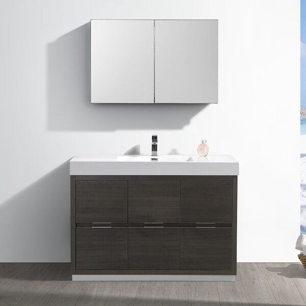 Senza Valencia 48 Single Bathroom Vanity Set by Fresca