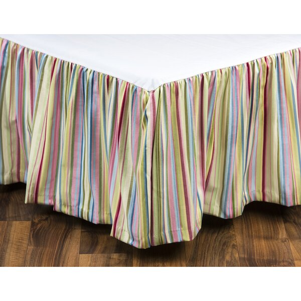 Eaman Stripe Bed Skirt by August Grove
