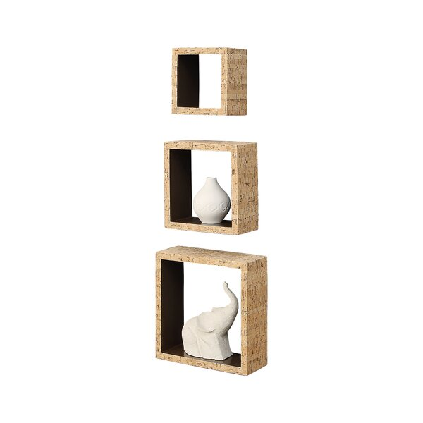 Decorative 3 Piece Accent Shelf Set by Organize It All