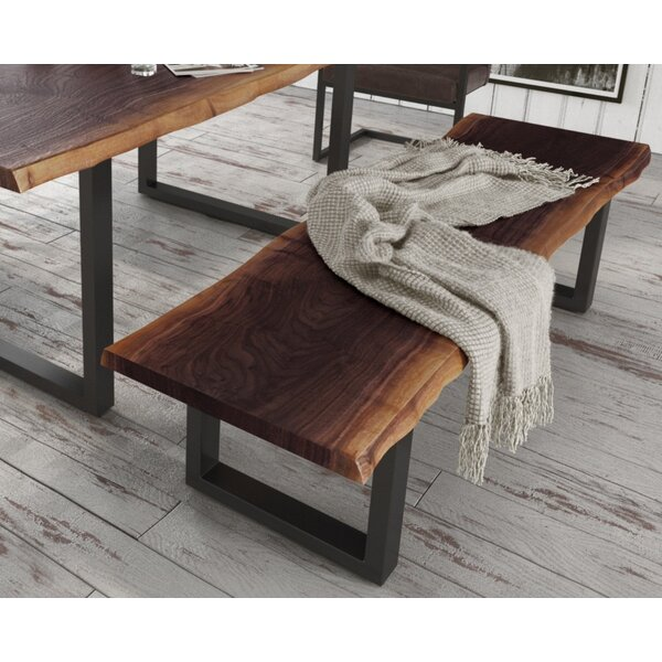 Lemay Wood Bench by Union Rustic Union Rustic