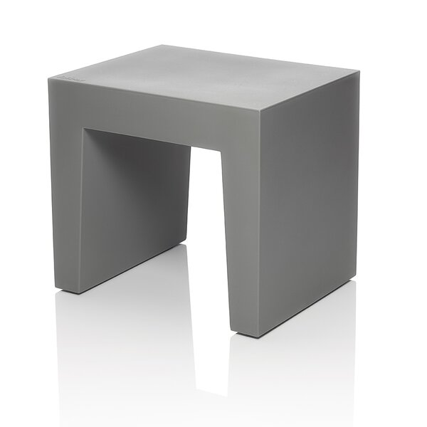 Concrete Accent Stool by Fatboy