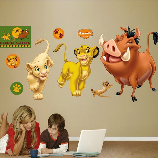 Disney Lion King Wall Decal by Fathead