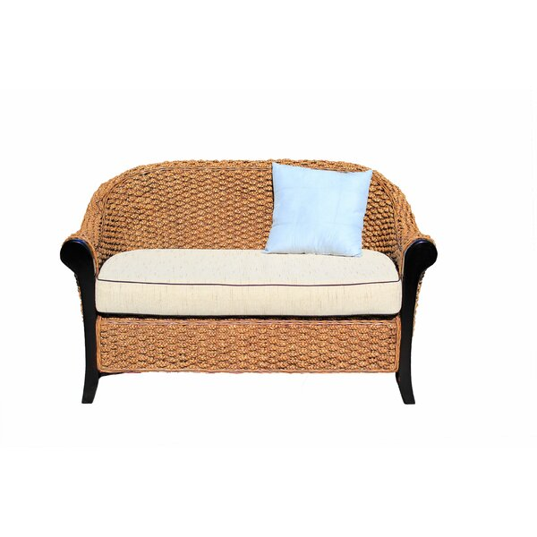 Willson Water Hyacinth Loveseat By Highland Dunes