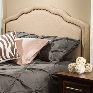 Mandrian Upholstered Panel Headboard by Home Loft Concepts