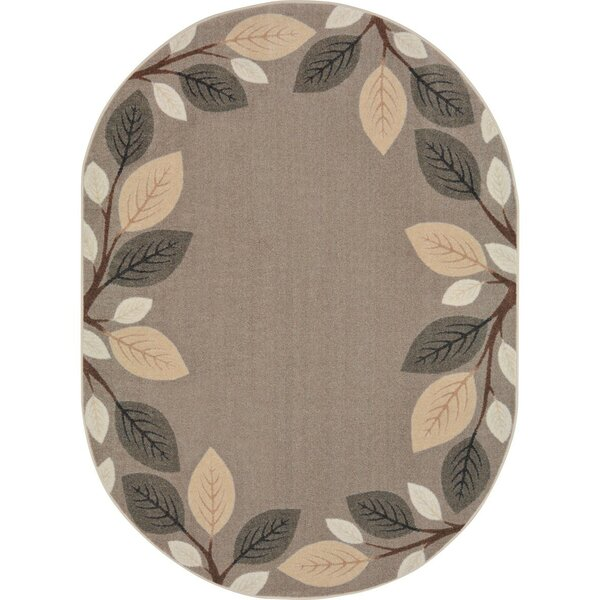 Allred Breezy Branches Brown Area Rug by Zoomie Kids
