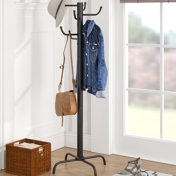 Eight Hook Metal Coat Rack by Andover Mills