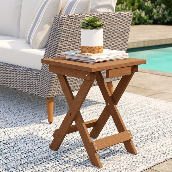 Arianna Adirondack Folding Side Table by Langley Street™