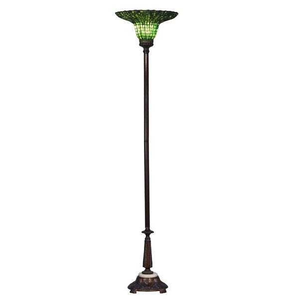 Saskia 71.5 Torchiere Floor Lamp by Astoria Grand