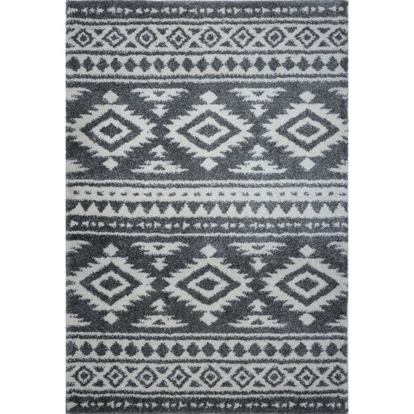 Lindgren Gray/Ivory Area Rug by Union Rustic