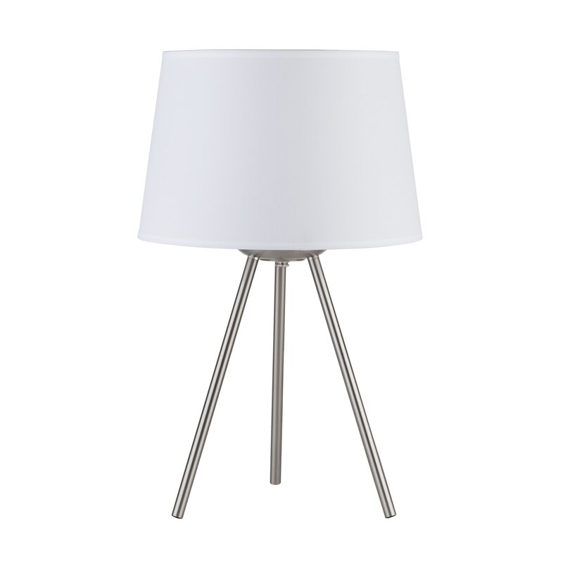 """Weegee Small 20"""" Tripod Table Lamp"""