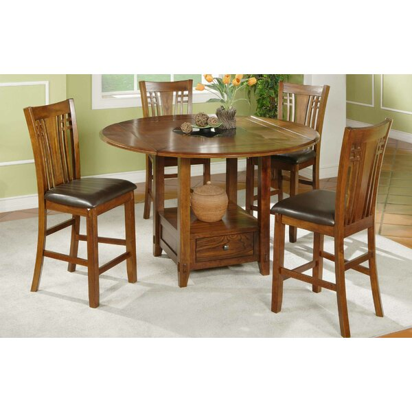 Schueller 5 Piece Extendable Dining Set by Darby Home Co