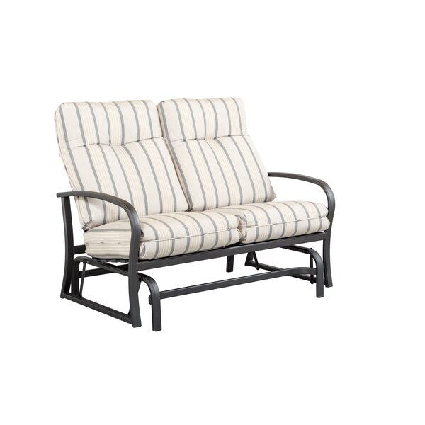 Terrabay Loveseat with Cushions by Outdoor Masterpiece