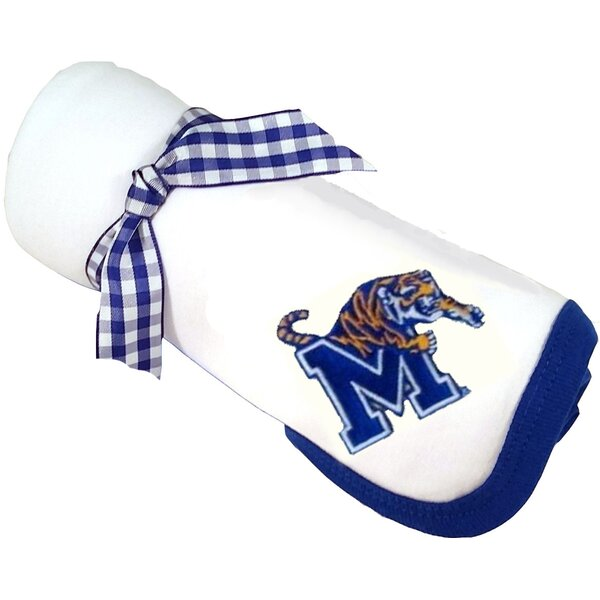 Memphis Tigers Baby Receiving Blanket by Future Tailgater