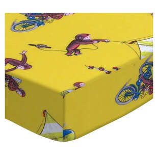 Curious George Fun Fitted Crib Sheet By Sheetworld