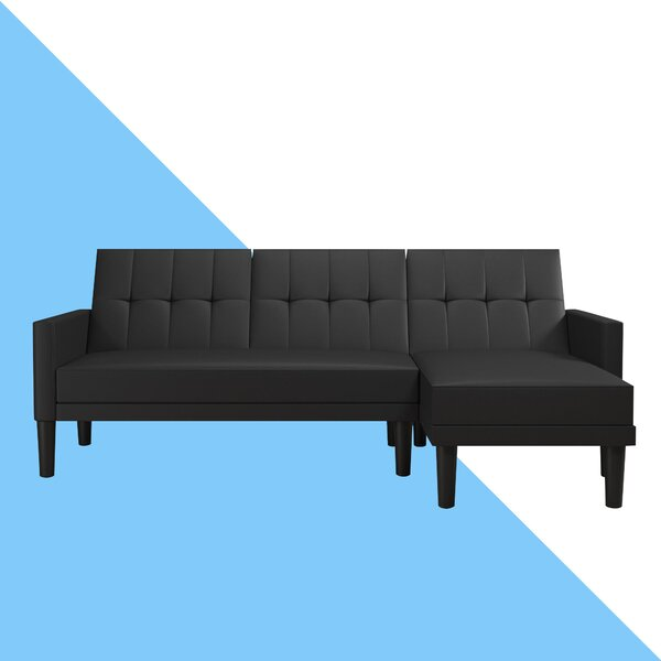 Correia Reversible Sleeper Sectional by Hashtag Home