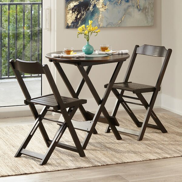 Chantry Folding Round 3 Piece Bistro Set by Winston Porter
