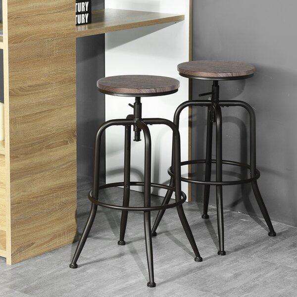 Peachy Honey Oak Bar Stools Wayfair Beatyapartments Chair Design Images Beatyapartmentscom