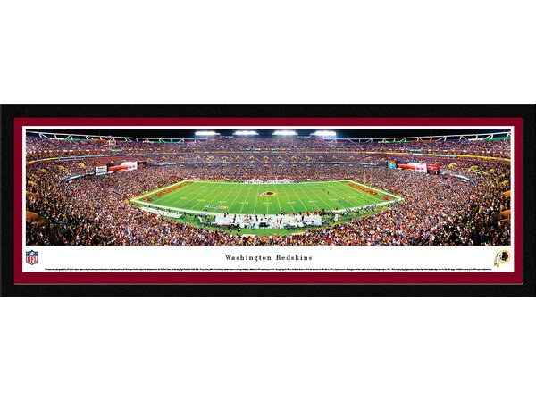 NFL Washington Redskins by Christopher Gjevre Framed Photographic Print by Blakeway Worldwide Panoramas, Inc