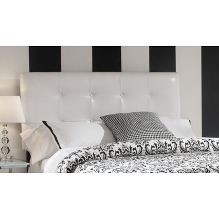 Hetzel Upholstered Panel Headboard by Mercury Row Mercury Row