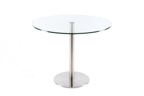 Rosy Round Glass Dining Table by C2A Designs