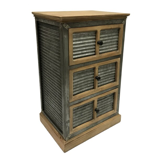 Masam 3 Drawer Chest by Gracie Oaks