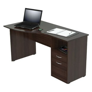 Alek Engineered Wood L-Shape Executive Desk