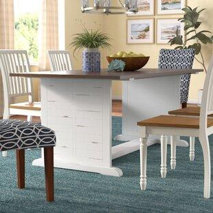 White Washed Oak Dining Table | Wayfair