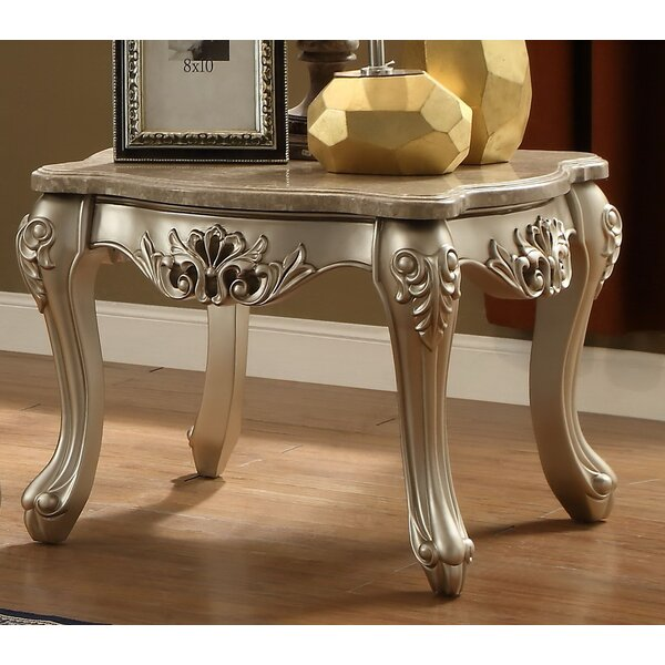 Nia End Table by Astoria Grand