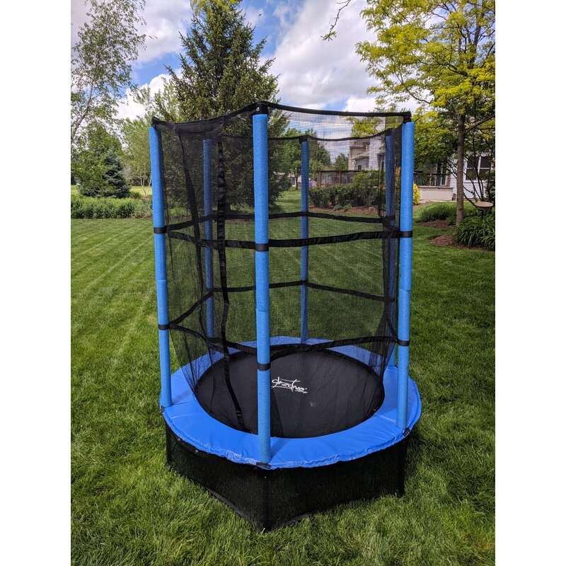 AirZone Play Jump Indoor/Outdoor Youth Trampoline 4.6 ...