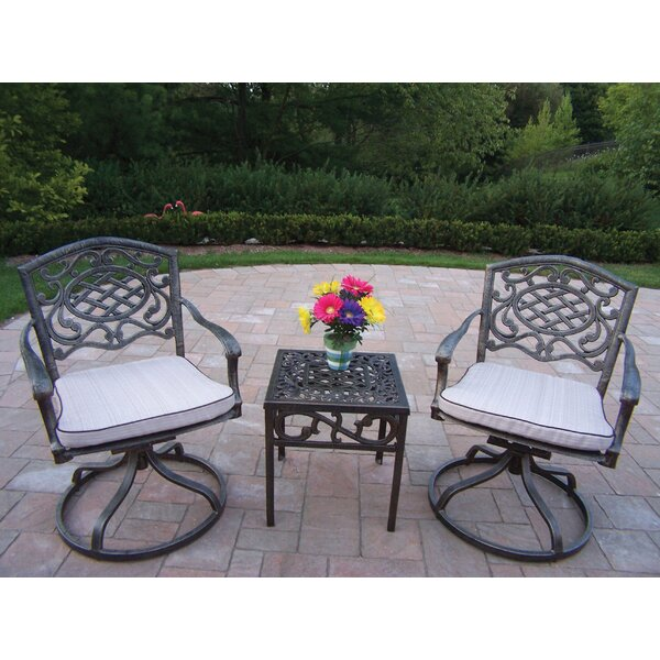 Mississippi 3 Piece Conversation Set with Cushions by Oakland Living