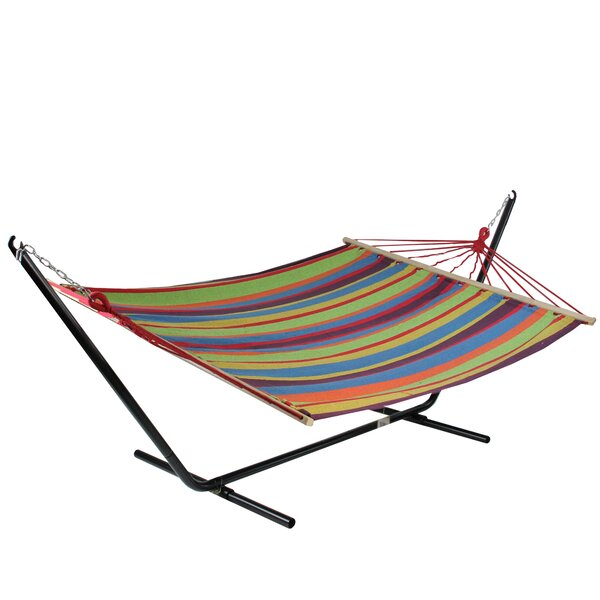Ilsa Striped Tree Hammock by Ebern Designs