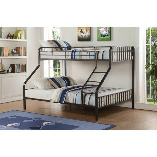 Merissa Twin XL Over Queen Bunk Bed by Harriet Bee