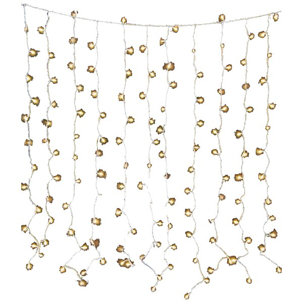 Hillis Curtain 6 ft. Fairy String Lights by Mercury Row