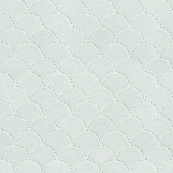 Victoria 1.8 x 1.8 Ceramic Mosaic Tile in Bone by Shaw Floors