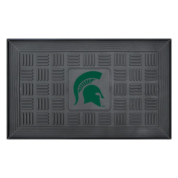 NCAA Michigan State University Medallion Door Mat by FANMATS