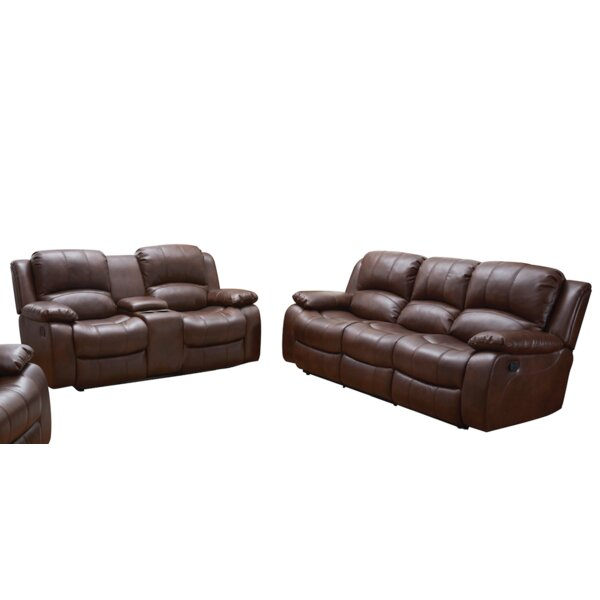 Woodell 2 Piece Reclining Living Room Set by Red Barrel Studio