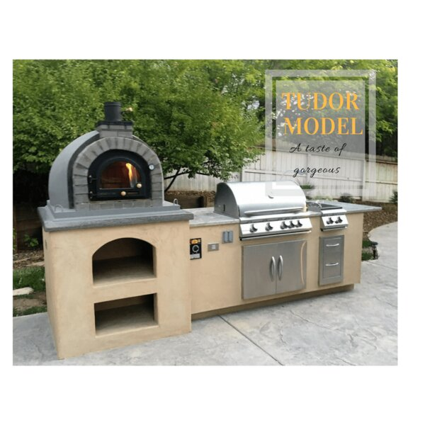 Tudor Model Pizza Oven by Dome Ovens