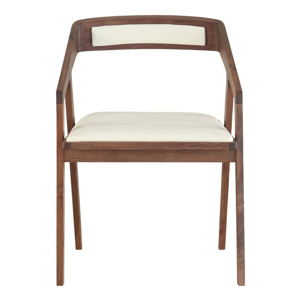 Deana Upholstered Arm Chair in Cream White by Corrigan Studio Corrigan Studio