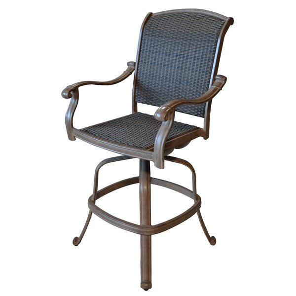 Adela 30 Patio Bar Stool (Set of 2) by Darby Home Co