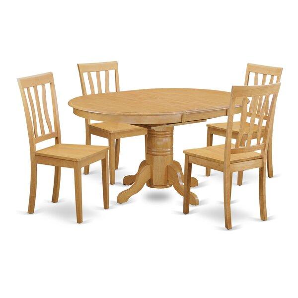 Paloma 5 Piece Dining Set by Alcott Hill Alcott Hill