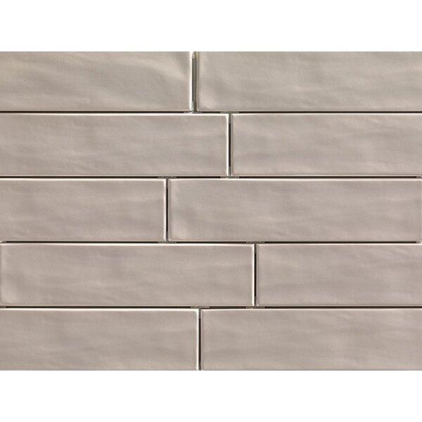 Organic Brick 3 x 12 Porcelain Field Tile in Sand by Travis Tile Sales