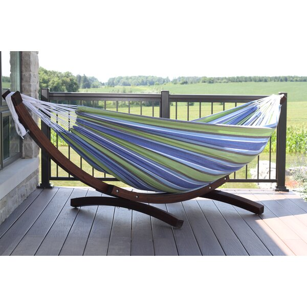 Holyoke Cotton Hammock with Stand by Bay Isle Home