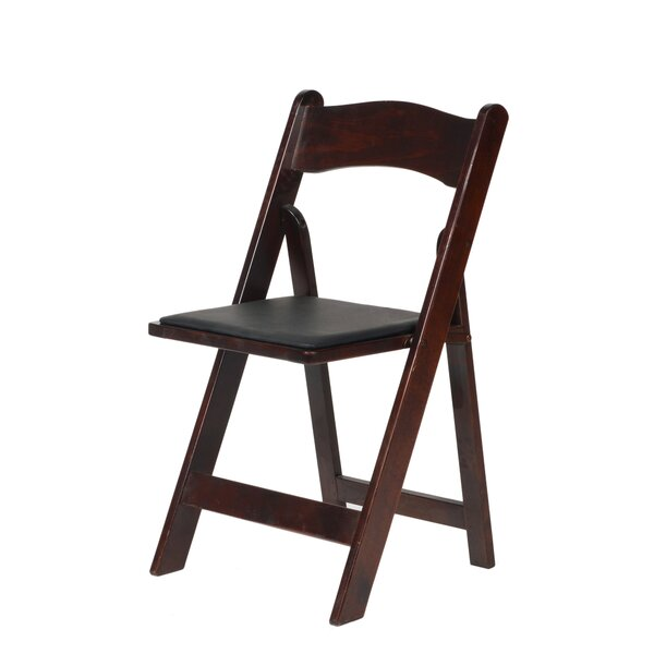 American Classic Wood Folding Chair by Commercial