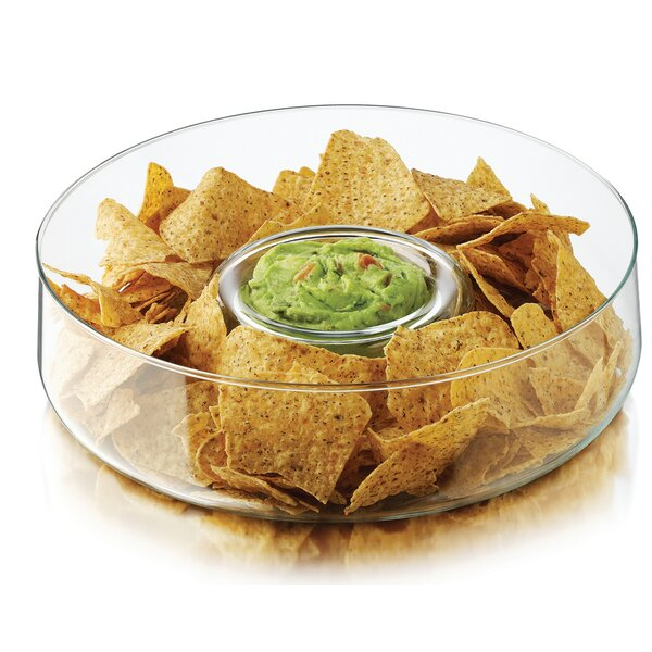 Selene Chip And Dip Platter by Libbey