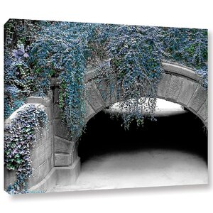 Trefoil Winter Photographic Print on Wrapped Canvas by Latitude Run