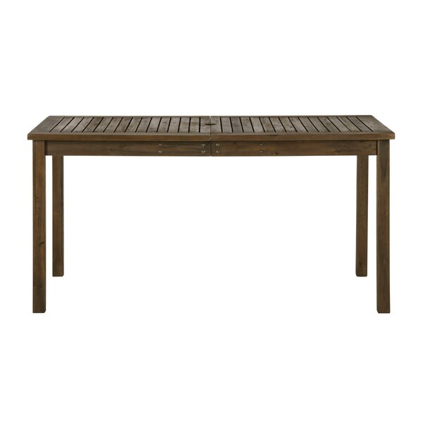 Luttrell Wooden Dining Table by Union Rustic