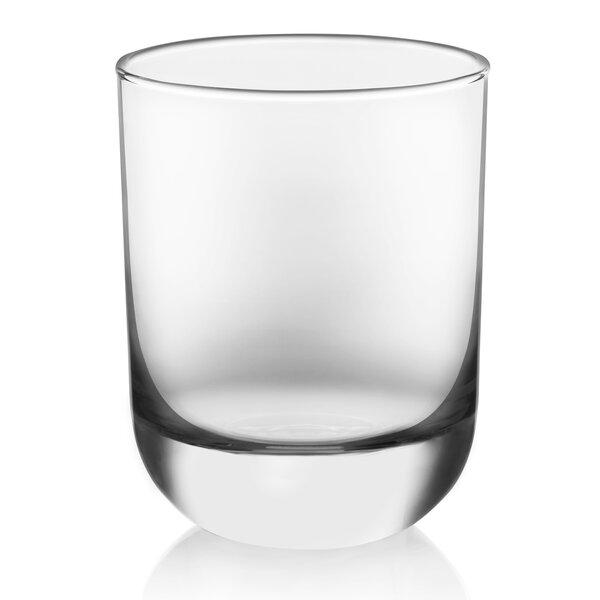 Polaris 16 Piece Glass Assorted Glassware Set by L