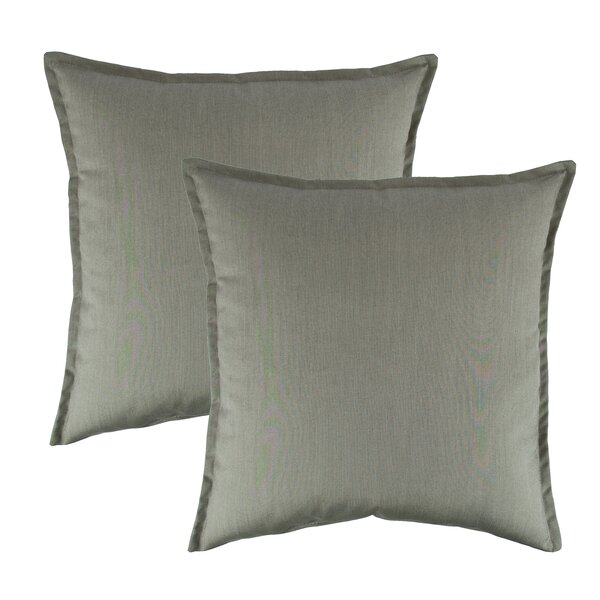 Spectrum Outdoor Sunbrella Throw Pillow (Set of 2) by Austin Horn Classics