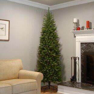 green fir artificial christmas tree - 9 Foot Slim Christmas Tree