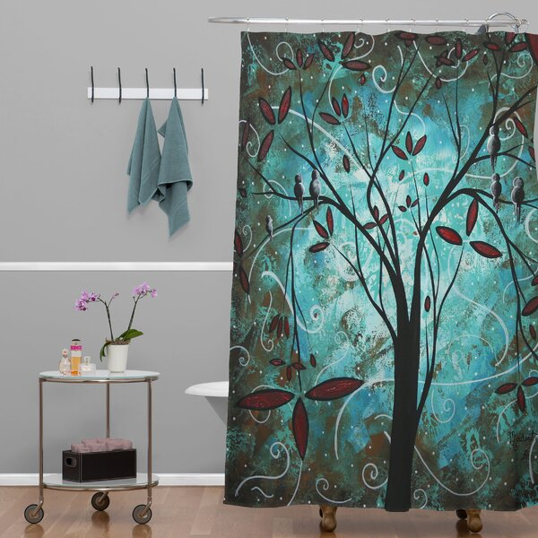 Madart Inc Romantic Evening Shower Curtain by Deny Designs